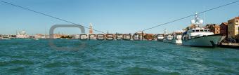 Panorama of Venice  Italy