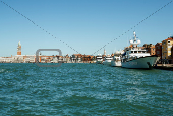 port in Venice Italy