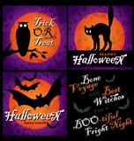 grungy Halloween designs (vector)