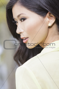Beautiful Chinese Oriental Asian Woman 