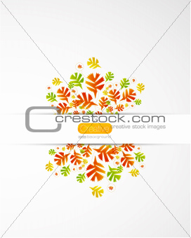 Fall abstract background