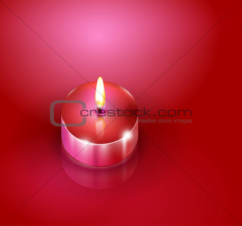 Aroma candles. Romantic background