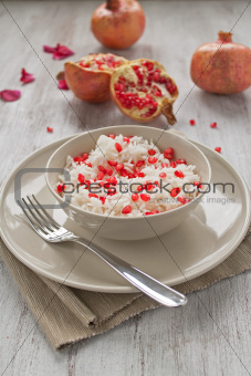 Rice with pomegranate
