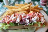 Delicious Maine Lobster roll.