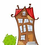 Cartoon house