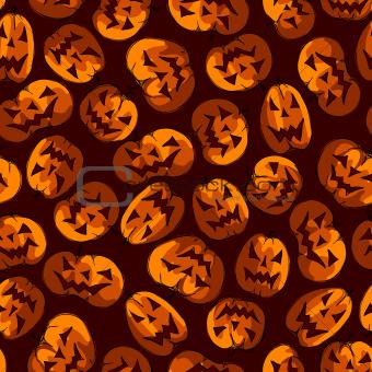 halloween seamless