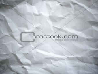 A crumpled paper