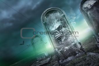 Mysterious Graveyard