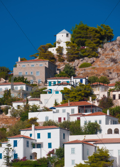 Village on the island of Hydra, Greece