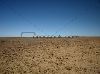 Lunar landscape in South Australia