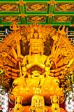 kuan im statue is holy in thailand