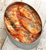 Tinned Sardines In Tomato Sauce 