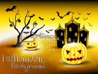 abstract glossy holloween background