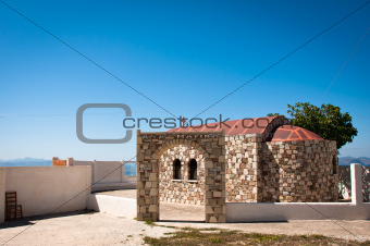 Greek chapel