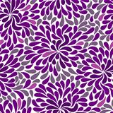 Repetitive violet pattern