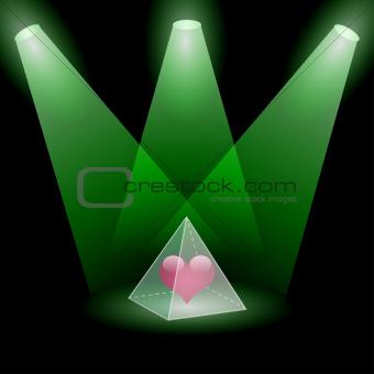 Pyramidal love