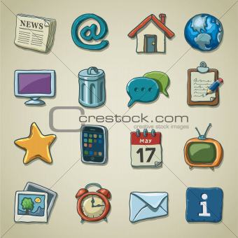 Freehand icons - multimedia