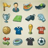 Freehand icons - Soccer