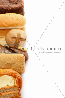 Frame of Various Bread