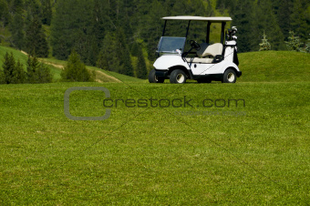 electric car golf resort
