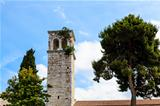 Bell Tower in Porec, Croatia