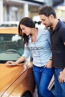 Chooses a car
