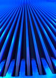 Blue escalator macro