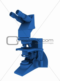 blue 3d microscope