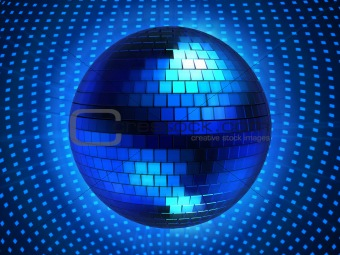 3d disco sphere