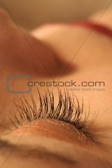 Closed eye