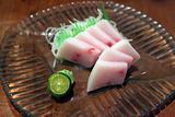 Blue marlin sashimi