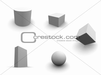 grey primitives