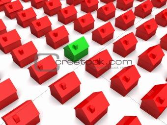 little 3d houses