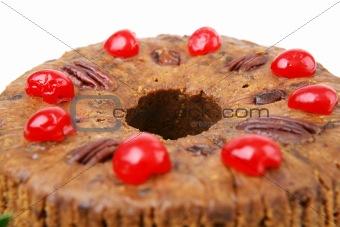 Christmas Cake Closeup