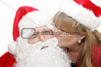 Kiss For Santa