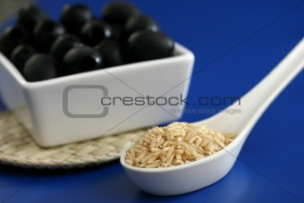 Rice and Olives