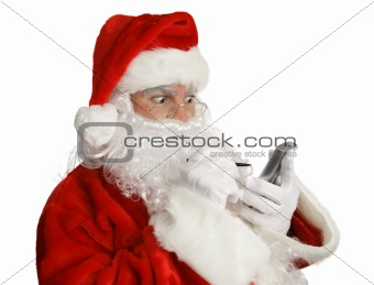 Santa Naughty List on PDA