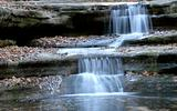 winter waterfalls,