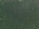 Green stippled paint