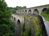 Chirk aquaduct and viaduct