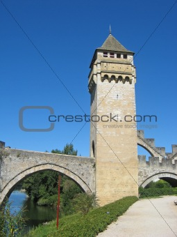 ancient bridge tower