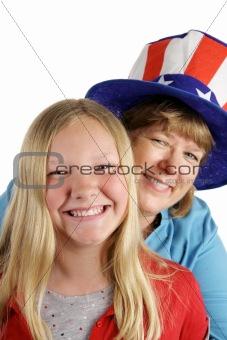 American Girl & Mom