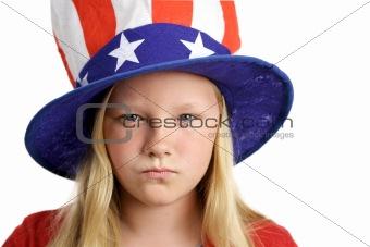 American Girl Angry