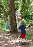 Easter Bunny Hide & Seek