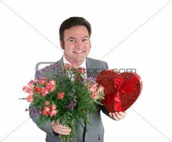 Valentine Guy - Hearts & Flowers