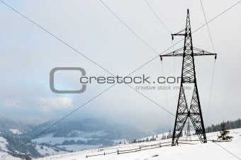 Mountain and electricity
