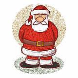 Santa Sketch