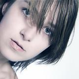 Natural looking woman portrait