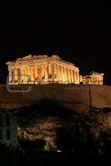 one night at parthenon