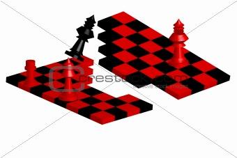 Broken Chessboard